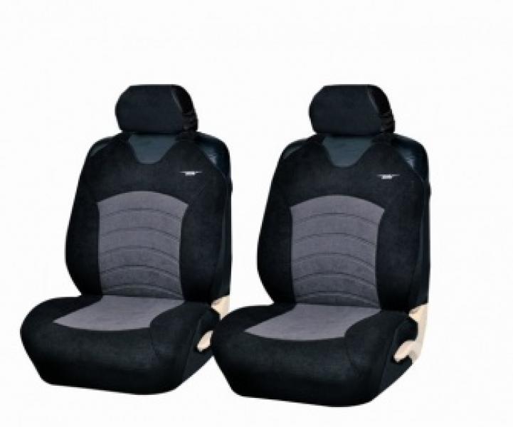 Майки на сиденья универсальные Genesis Front (Т.Серый-черный, красный, синий, беж,серый)