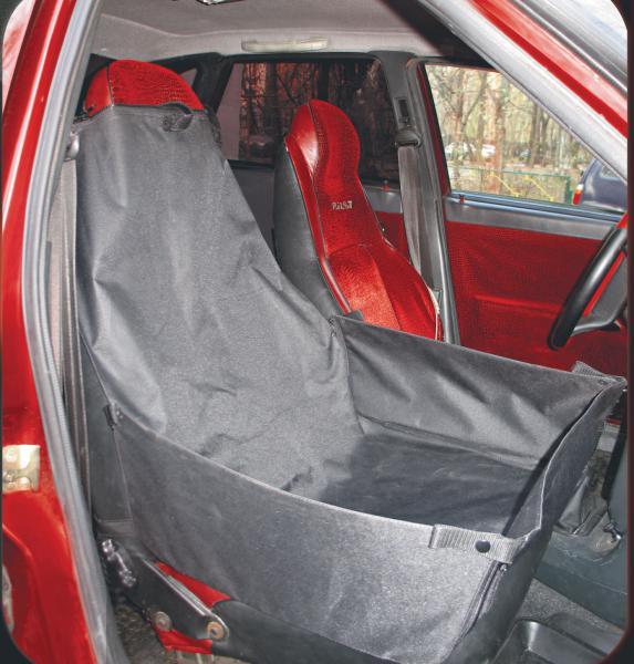 Автогамак на переднее сиденье автомобиля