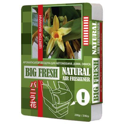 Ароматизатор воздуха Big fresh Цветок ванили