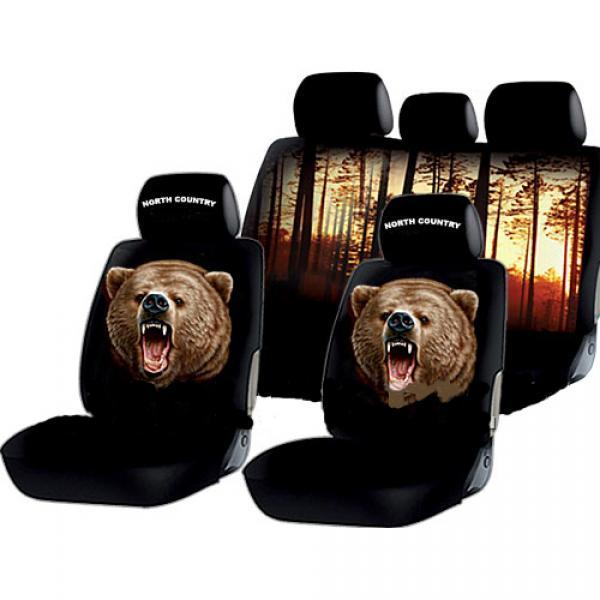 Авточехлы на сидения Медведь
