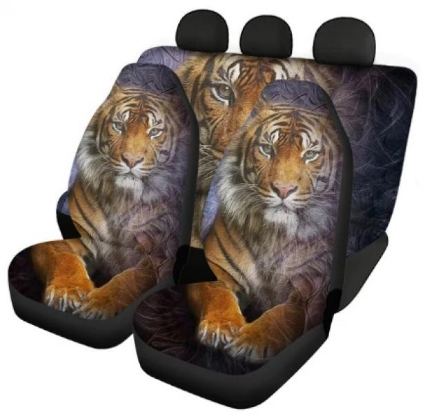 Авточехлы на сидения Тигр