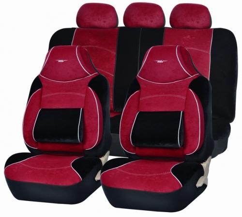 Авточехлы на сидения Torneo (бордовый)