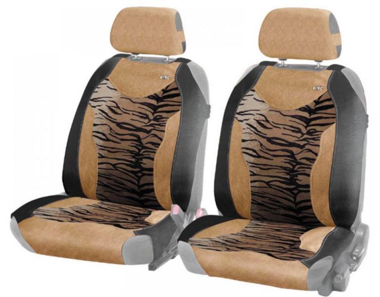 Комплект маек на передние сиденья Safary front-Тигр