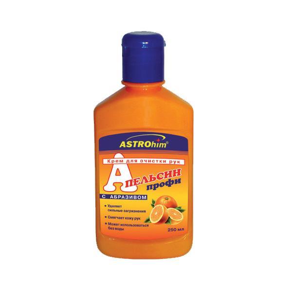 Крем для очистки рук с абразивом Апельсин, 250мл