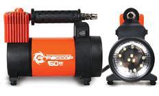Компрессор автомобильный Агрессор c фонарем 50л.мин