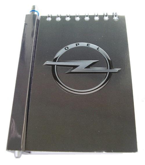 Автомобильный блокнот с магнитом Opel
