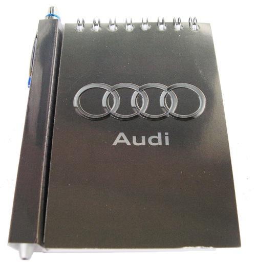 Автомобильный блокнот с магнитом Audi