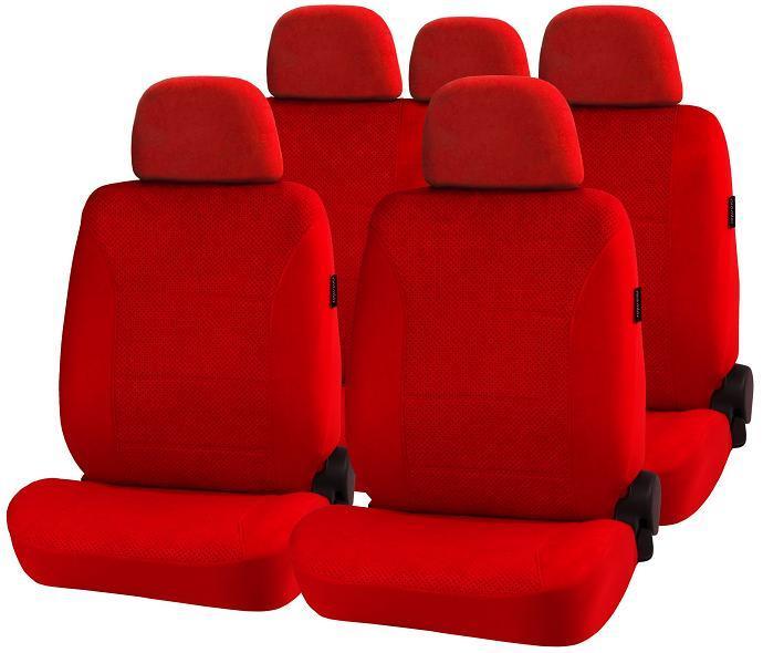 Авточехлы на сидения Air comfort красный