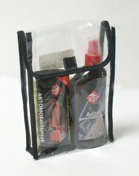 Подарочный набор антизапотеватель стекл+салфетки