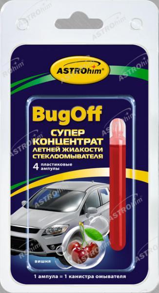 Суперконцентрат летней жидкости стеклоомывателя Bugoff дюшес