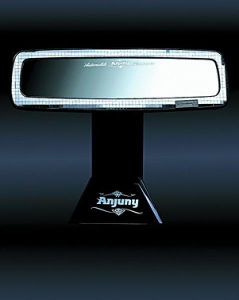 Зеркало заднего обзора серия VOGUE серебро кристалл