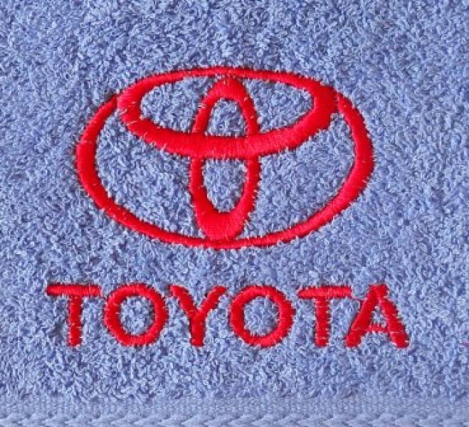 Махровое полотенце 50х90 TOYOTA
