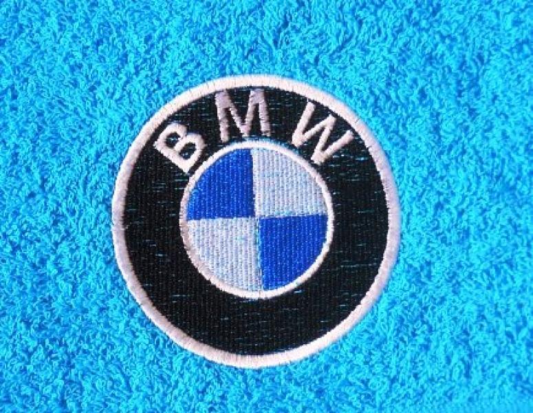 Махровое полотенце 50х90 BMW