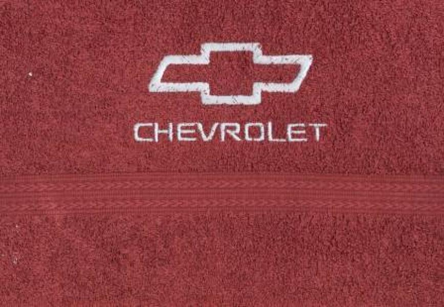 Махровое полотенце 50х90 CHEVROLET