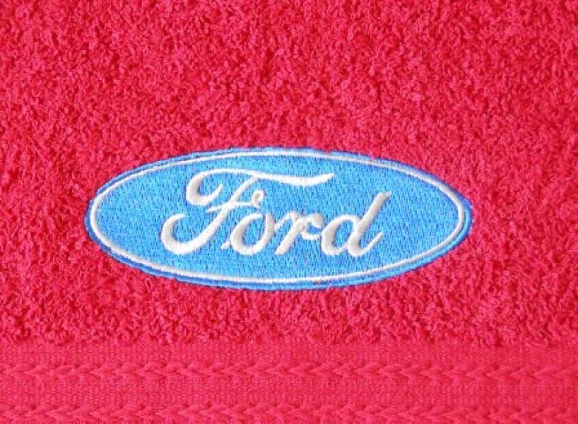 Махровое полотенце 50х90 FORD