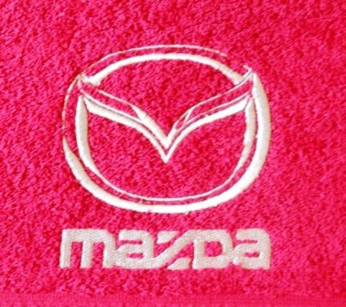 Махровое полотенце 50х90 MAZDA
