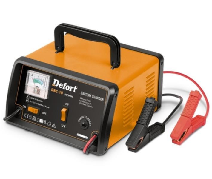 Зарядное устройство Defort DBC-10 (Германия)