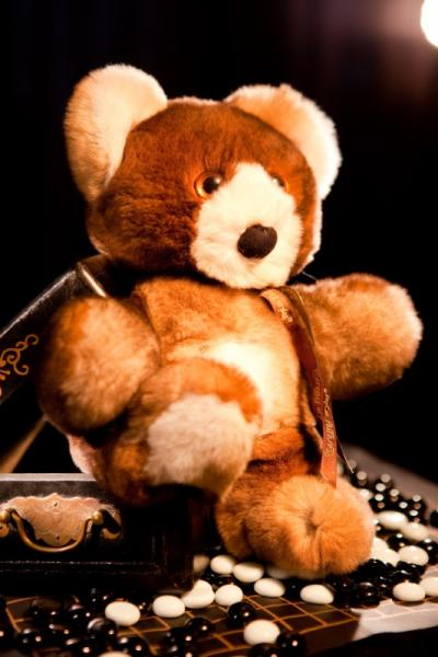Медведь, цвет натуральный коричневый