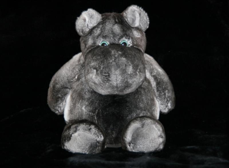 Бегемот из орилага, окрас пепельно-серый