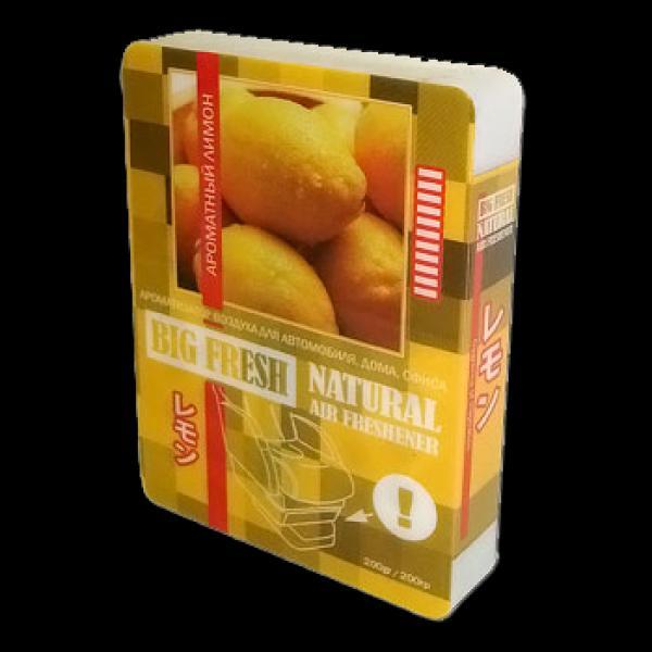Ароматизатор воздуха Big fresh Ароматный лемон 250 р.