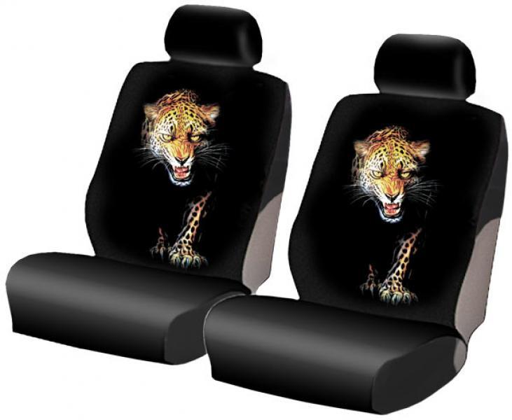 Автомобильные чехлы c рисунком ягуара
