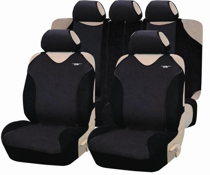 Майки-накидки на передние и задние сиденья Cruise Plus (ЭКО материал)