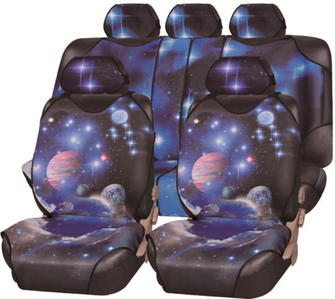 Майки-накидки на сиденье Galaxy Plus (ЭКО материал)