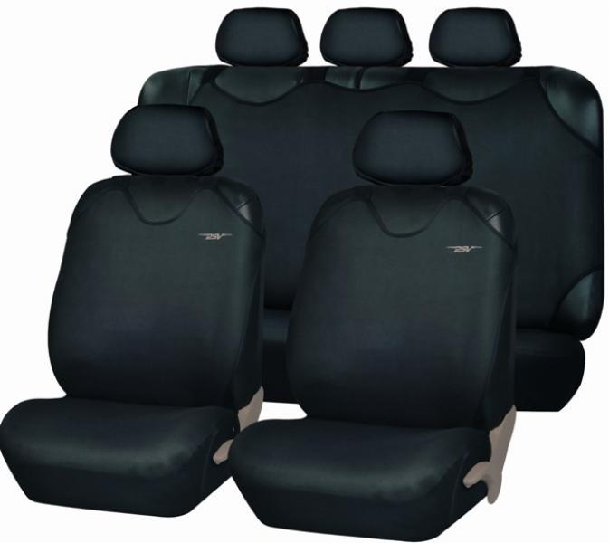 Майки-накидки на передние и задние сиденья Superb Plus (ЭКО материал)