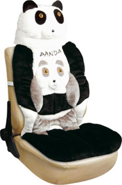 Майка-накидка на переднее сиденье Панда (ЭКО материал)