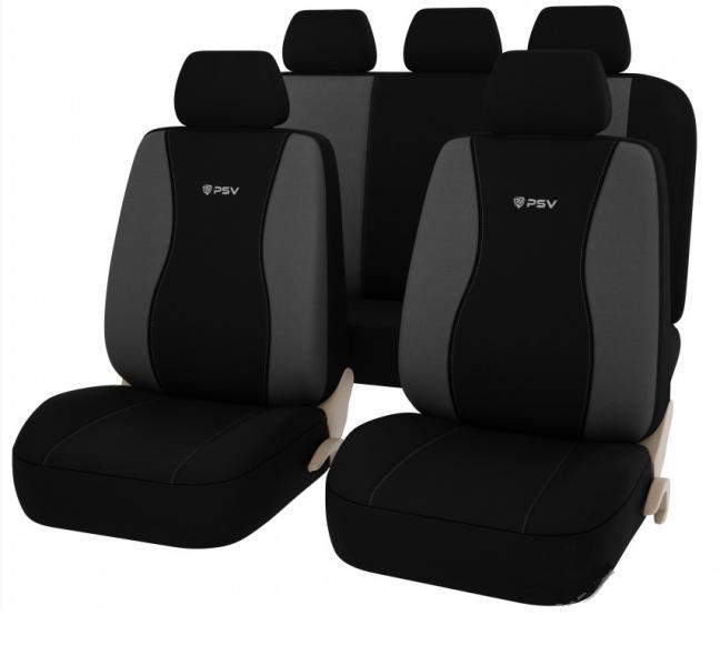 Авточехлы на сидения PSV Beemaster (Серый) Эко-материал