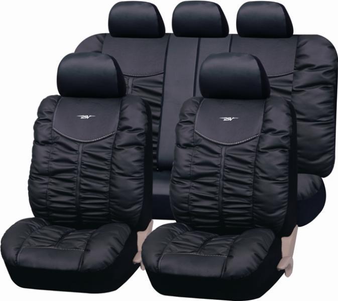 Авточехлы на сидения Elite (черный) эко-кожа