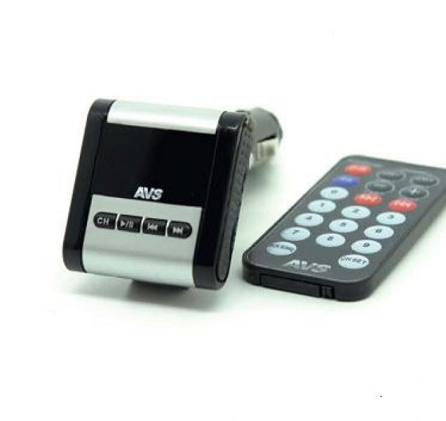 USB MP3 плеер FM трансмиттер с дисплеем и пультом AVS F771