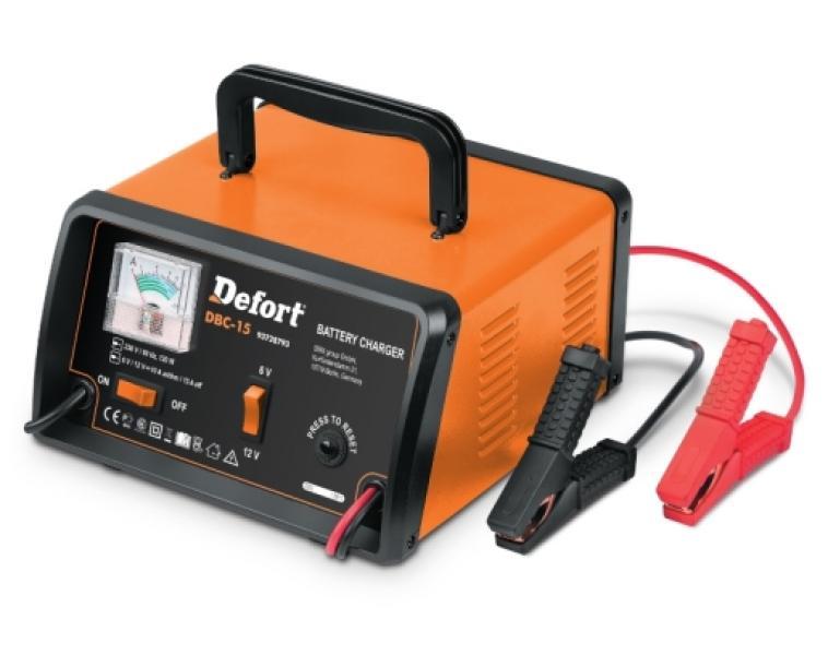 Зарядное устройство Defort DBC-15 (Германия)
