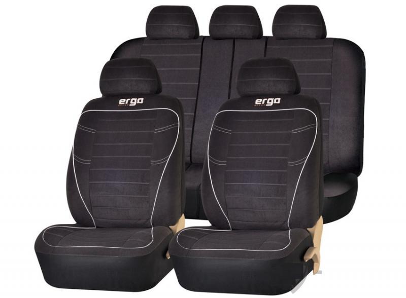 Авточехлы на сидения PSV Ergo (Черный)