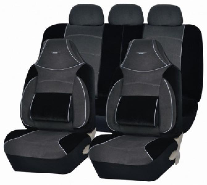 Авточехлы на сидения Torneo (Т.Cерый)