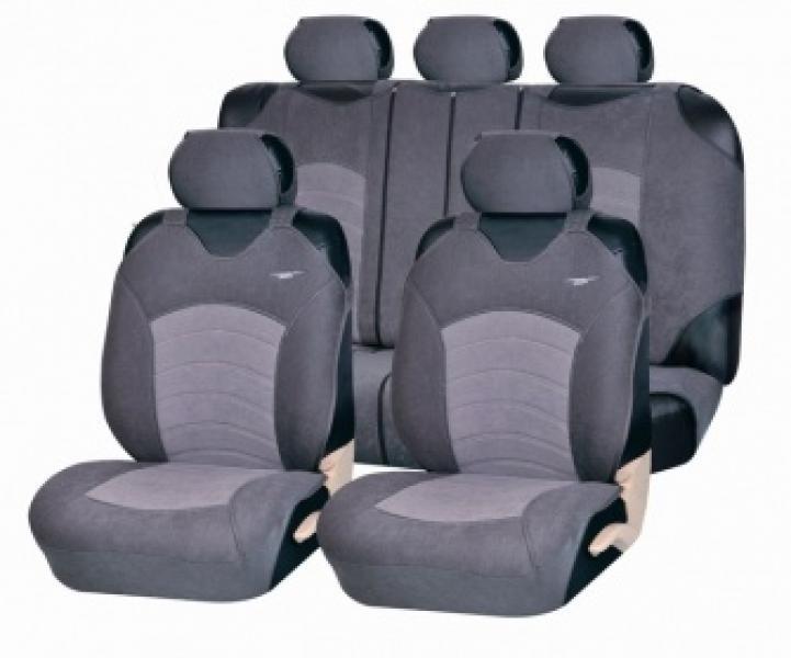 Майки на сиденья универсальные Genesis PLUS (Т.Серый-черный, красный, синий, беж,серый)