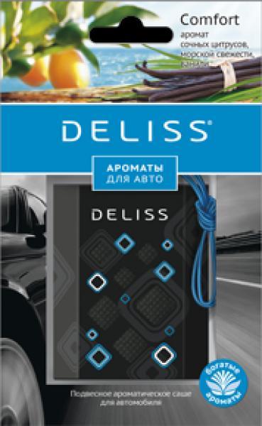 Ароматизатор подвесной (саше) Deliss Comfort