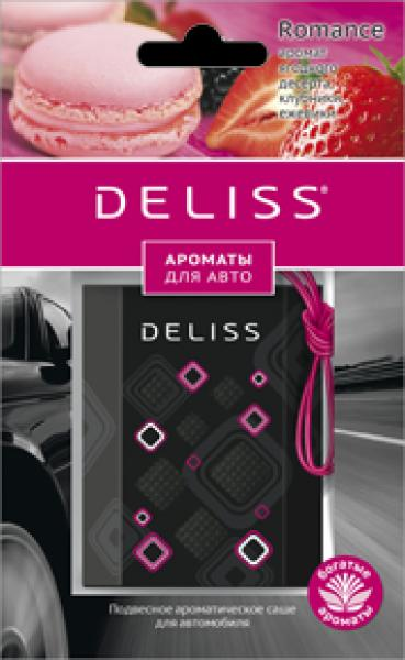 Ароматизатор подвесной (саше) Deliss Romance