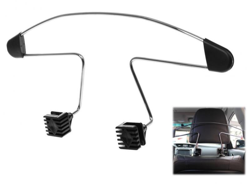Вешалка металлическая автомобильная (Противоскользящие подплечники)