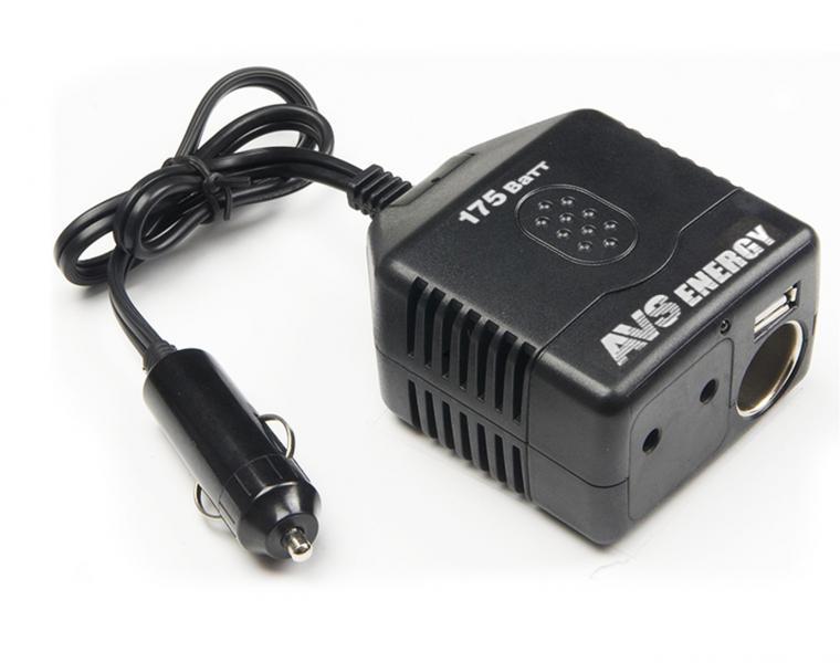 Автомобильный инвертор 12/220V IN-C175W