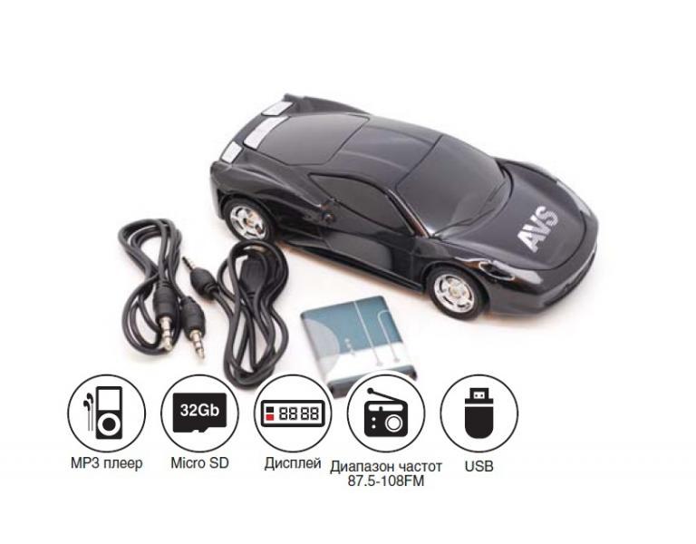 Портативная стереоколонка AVS C-7010FM(USB/FM/microSD)