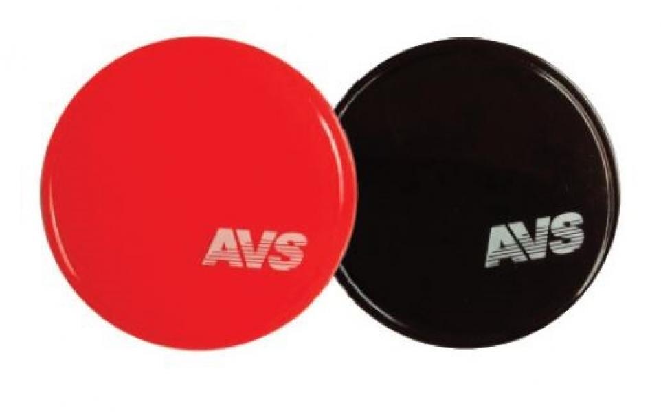 Противоскользящий NANO коврик NP-004 (круглый, диаметр 8 см.) красный