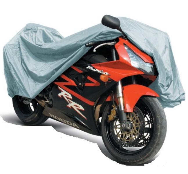 Защитный чехол-тент на мотоцикл (водонепроницаемый)