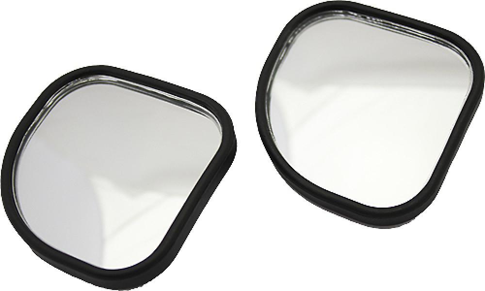 Зеркало мертвой зоны, 48х48 мм регулируемое, (к-т 2 шт.)