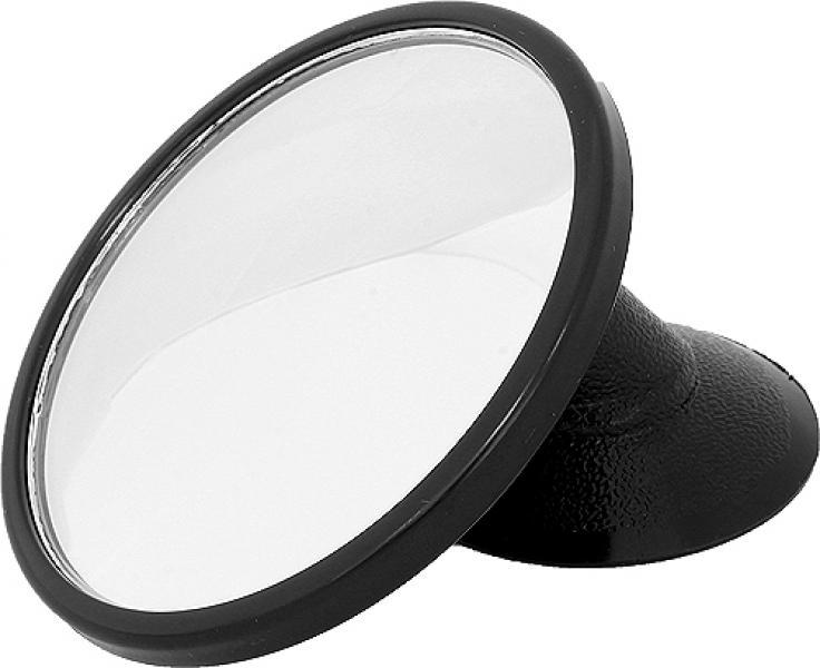 Зеркало внутрисалонное круглое d = 79 мм дополнительное на присоске