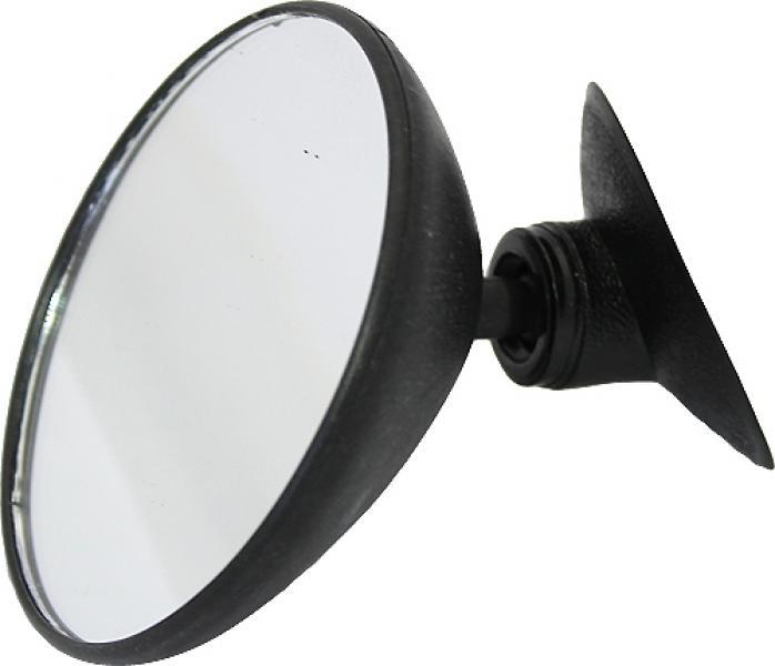 Зеркало внутрисалонное круглое d = 85 мм дополнительное на присоске