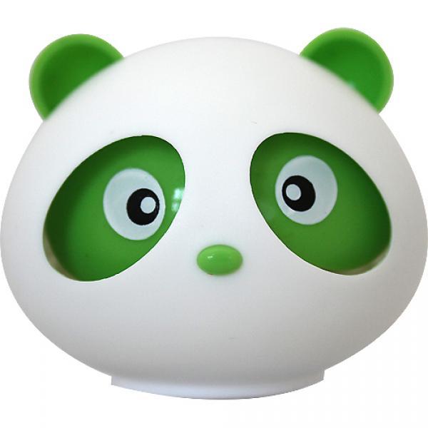"""Ароматизатор на приборную панель """"Панда"""" гелевый с подвижными глазами (лимон)"""