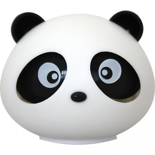 """Ароматизатор на приборную панель """"Панда"""" гелевый с подвижными глазами (океан)"""