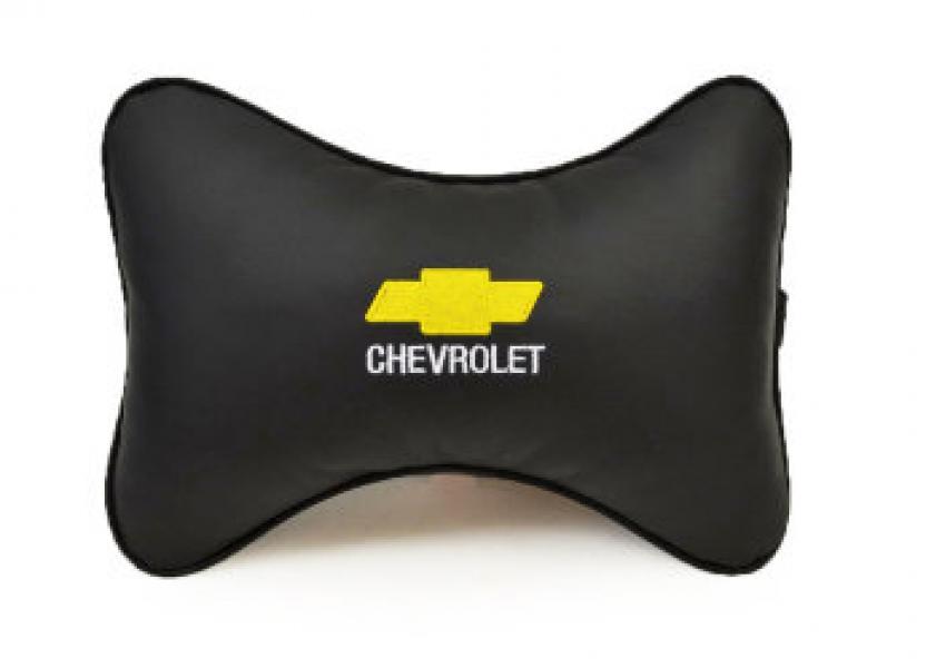 Подушка-подголовник из эко-кожи CHEVROLET