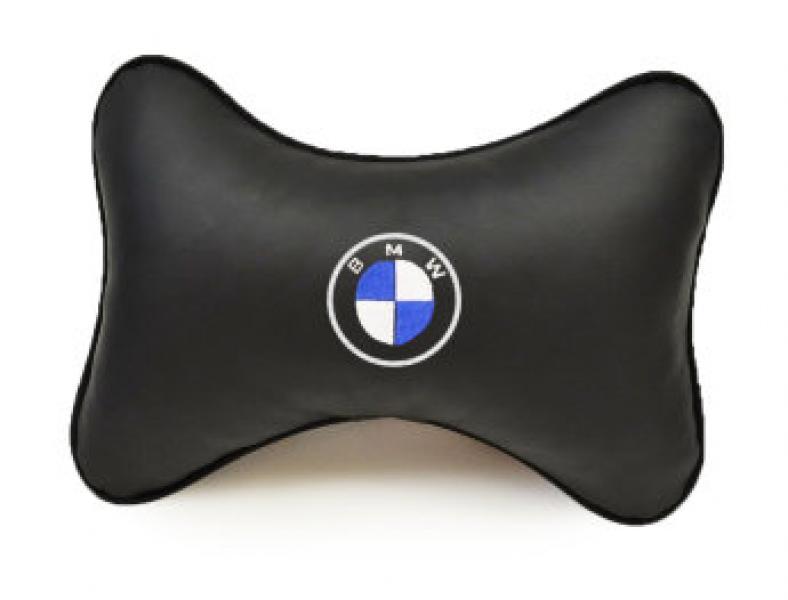 Подушка-подголовник из эко-кожи BMW
